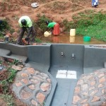 The Water Project: Shitaho Community A -  Construction