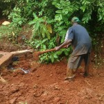 The Water Project: Eluhobe Community -  Construction