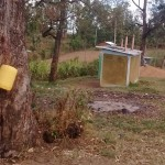 The Water Project: Eshisuru Primary School -  Makeshift Hand Washing Station