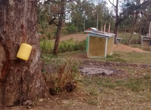 The Water Project:  Makeshift Hand Washing Station