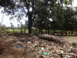 The Water Project:  Garbage Site