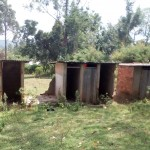 The Water Project: Muhudu Primary School -  Unusable Latrines