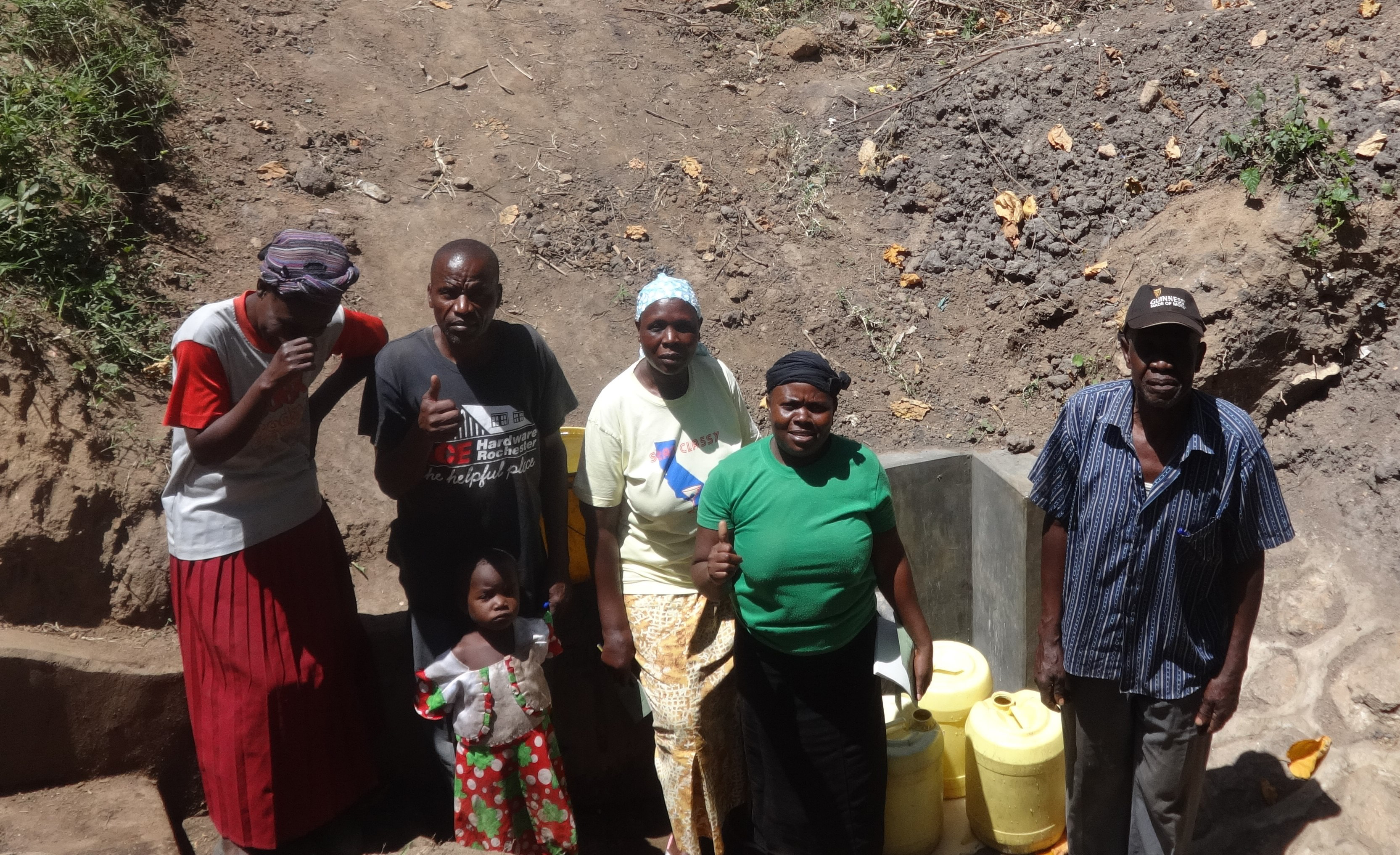 The Water Project : 19-kenya4698-protected-spring
