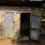 The Water Project: Benke Community, Brima Lane -  Latrine