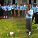 The Water Project: Bumuyange Secondary School -  Solar Disinfecting