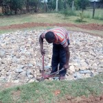 The Water Project: Bumira Secondary School -  Tank Foundation