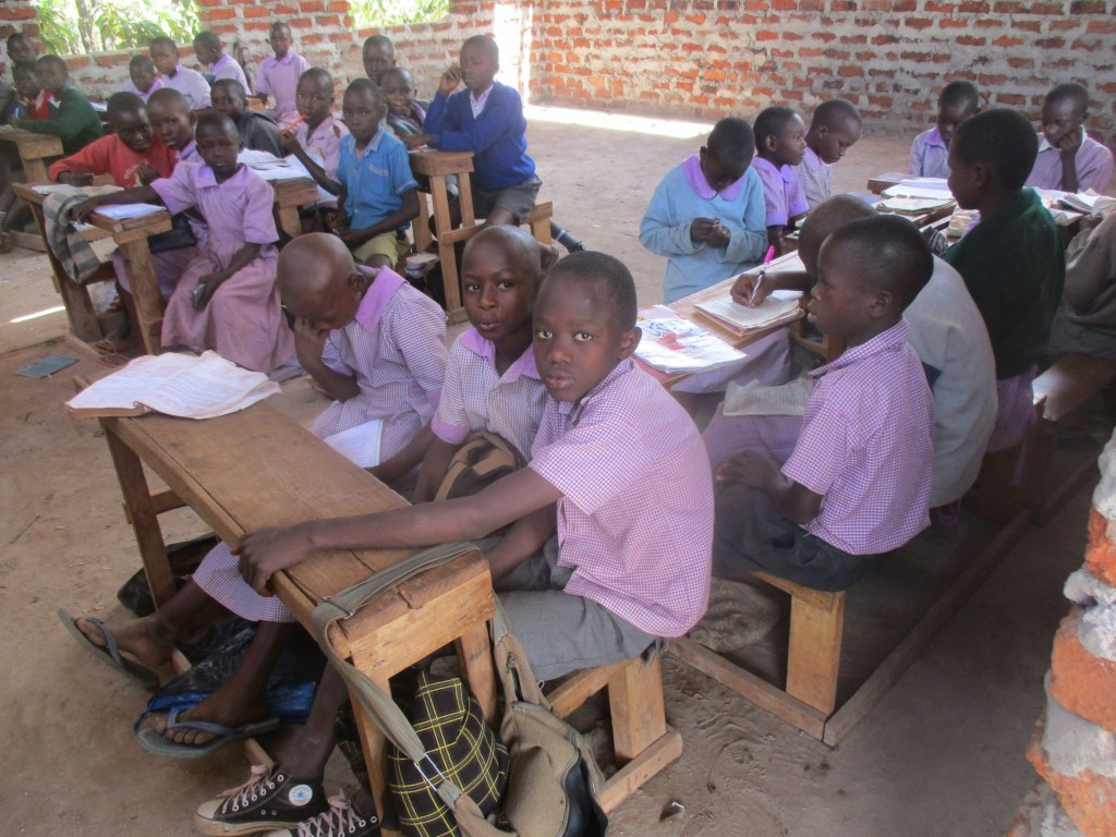 The Water Project : 2-kenya4662-students-in-class