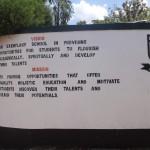 The Water Project: Ibinzo Girls Secondary School -  School Gate