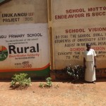 The Water Project: Emukangu Primary School, Butere -  School Entrance