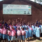 The Water Project: Muhudu Primary School -  Students Excited About The Project
