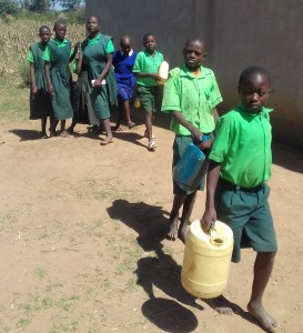 The Water Project:  Students Going To The Spring