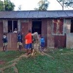 The Water Project: Iyenga Primary School -  Students Outside Classroom