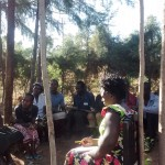 The Water Project: Mwinaya Community -  Training