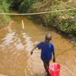The Water Project: Benke Community, Brima Lane -  Swamp