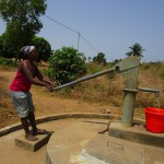The Water Project: Royema, New Kambees -  Seasonal Well