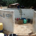 The Water Project: Mayaya Village A -  Functional Borehole