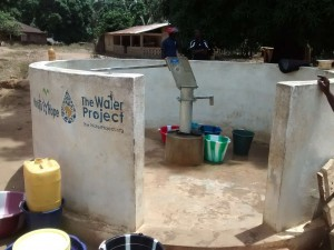 The Water Project:  Functional Borehole