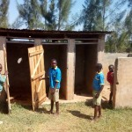 The Water Project: Ematsuli Primary School -  Boys Latrines