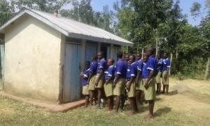 The Water Project : 20-kenya4670-boys-latrines