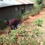 The Water Project: Esibuye Primary School -  Smoking Is Common In This Village