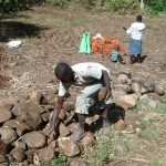The Water Project: Emarembwa Community -  Materials For Construction