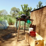 The Water Project: Shiamboko Community, Oluchinji Spring -  Dish Rack