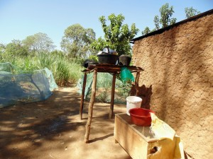The Water Project : 20-kenya4732-dish-rack