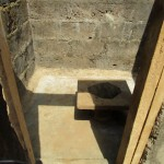 The Water Project: Benke Community, Brima Lane -  Inside Latrine