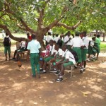 The Water Project: Kulufai Rashideen Secondary School -  Outside Class