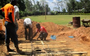 The Water Project : 21-kenya4641-latrine-construction