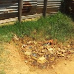 The Water Project: Emukangu Primary School -  Girls Urinal