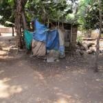 The Water Project: Benke Community, Brima Lane -  Bathing Shelter