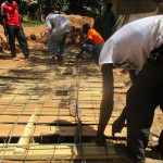 The Water Project: Friends Makuchi Secondary School -  Latrine Construction