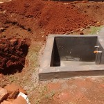 The Water Project: Matende Girls High School -  Tank Construction