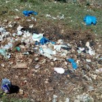 The Water Project: Ematsuli Primary School -  School Dumpsite