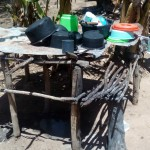 The Water Project: Handidi Community -  Dish Rack