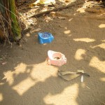 The Water Project: Mayaya Village A -  Toddler Latrines