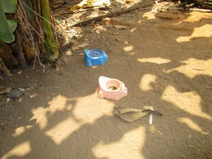 The Water Project:  Toddler Latrines