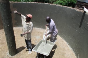 The Water Project : 23-kenya4640-construction