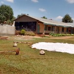 The Water Project: Matende Girls High School -  Dome Construction
