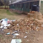 The Water Project: Eshisuru Primary School -  Garbage Pile