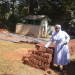 The Water Project: Bishop Sulumeti Girls Secondary School -  Bricks For Construction