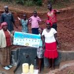 The Water Project: Shitaho Community A -  Protected Spring