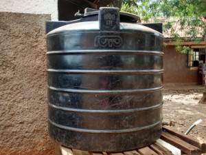The Water Project:  Tank At School
