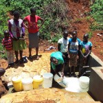 The Water Project: Shitaho Community C -  Protected Spring