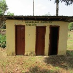 The Water Project: Kulufai Rashideen Secondary School -  Latrine
