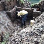 The Water Project: Emarembwa Community -  Construction