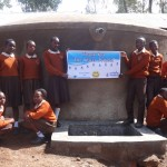 The Water Project: Compassion Primary School -  Finished Tank