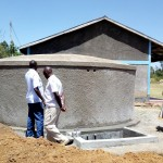 The Water Project: St. Marygoret Girls Secondary School -  Finished Tank