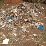 The Water Project: Esibuye Primary School -  Garbage Pile